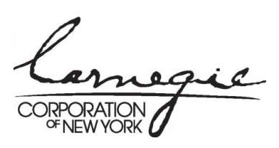 Carnegie Corporation logo