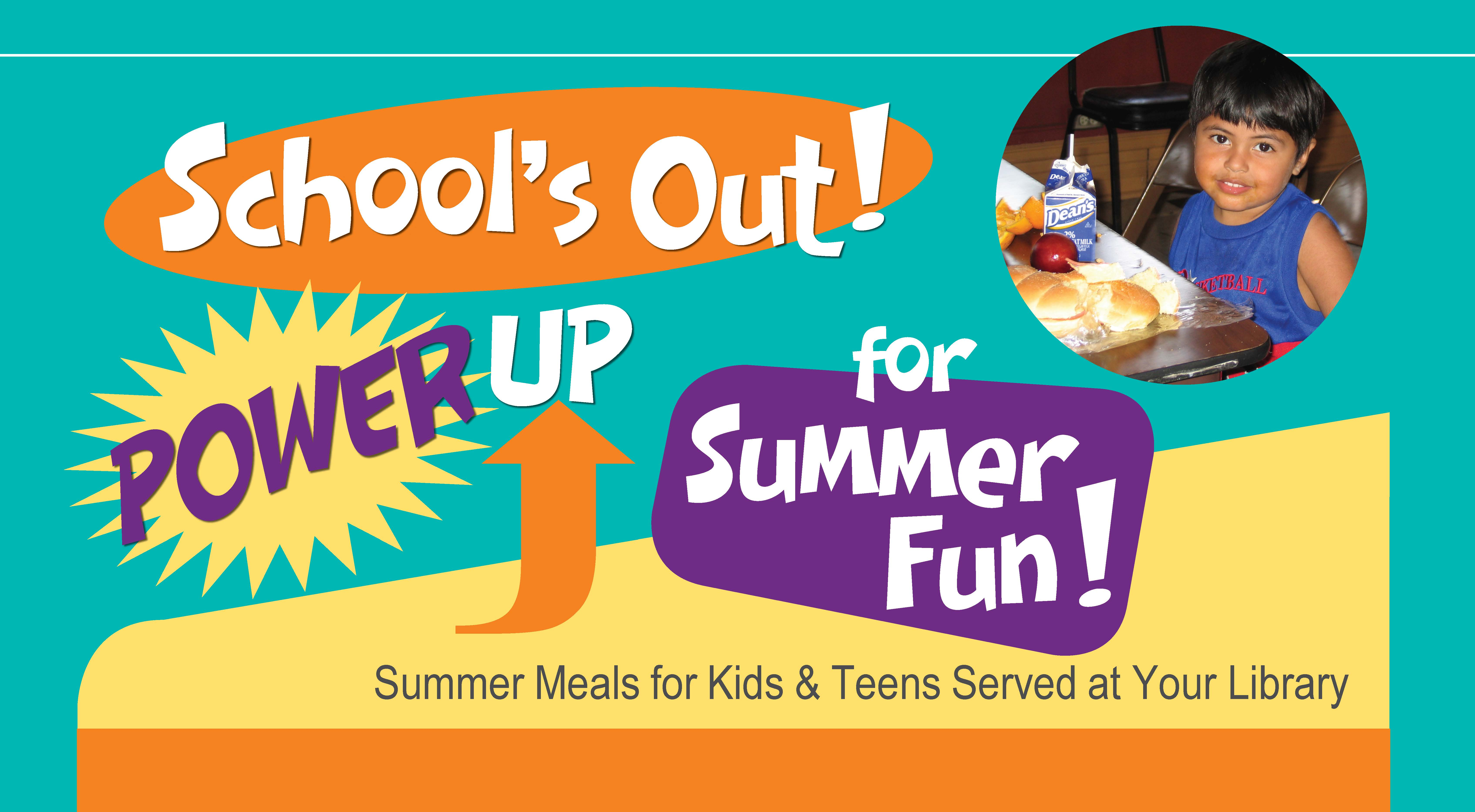Summer Meals For Kids And Teens At Your Library
