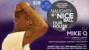 Naughty & Nice Ball | Our House Too @ Centennial Hall, 2nd Floor | Newark | New Jersey | United States