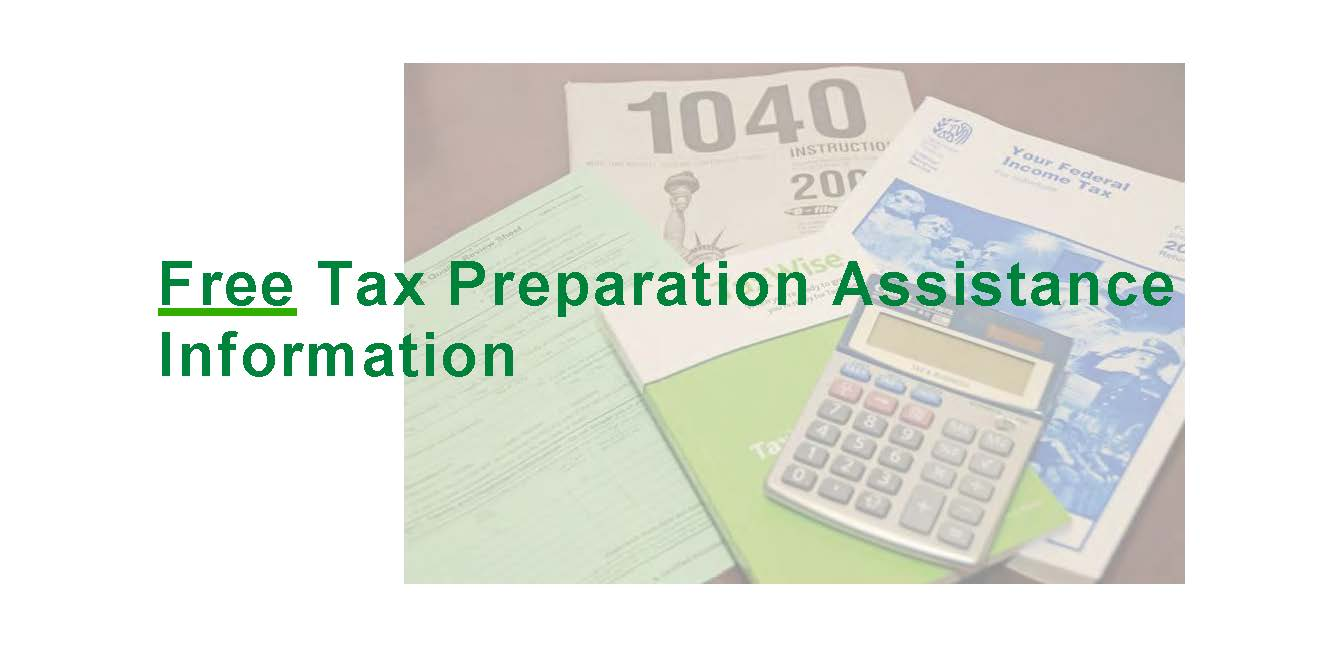 Free Tax Preparation Assistance for 2018 / Asistencia en la ...