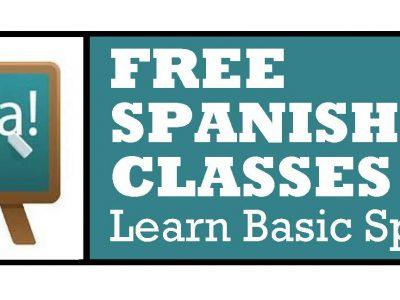 Free Spanish Language Classes
