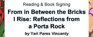 National Poetry Month - Yari Pares Vincenty Reading & Book Signing @ NPL Main – 2nd floor Reading Room | Newark | New Jersey | United States