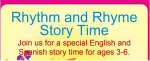 Rhythm and Rhyme Story Time @ North End Branch Library | Newark | New Jersey | United States