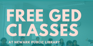 Free GED Classes @ NPL @ The Newark Public Library, Technology Training Center | Newark | New Jersey | United States