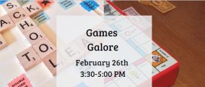 Games Galore @ Van Buren Branch Library | Newark | New Jersey | United States