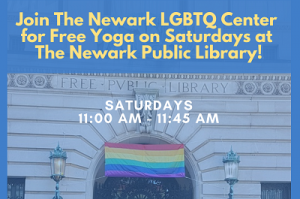 Join Us for Yoga On Saturdays @ The Newark Public Library @ LGBTQ Center, 1st Floor | Newark | New Jersey | United States