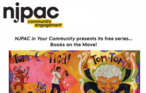 NJPAC Presents Books on the Move at NPL's Weequahic Branch @ The Newark Public Library, Weequahic Branch | Newark | New Jersey | United States