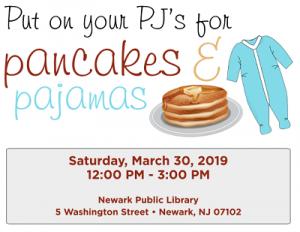 Pancakes & Pajamas @ The Newark Public Library   Newark   New Jersey   United States