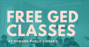 Free GED Classes @ NPL @ The Newark Public Library | Newark | New Jersey | United States