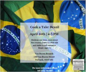 Cook a Tale: Brazil @ Van Buren Branch Library | Newark | New Jersey | United States