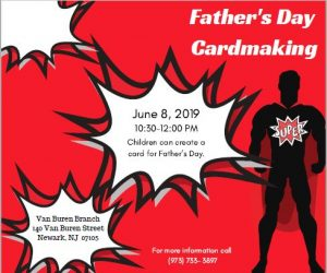 Father's Day Cardmaking @ Van Buren Branch Library | Newark | New Jersey | United States