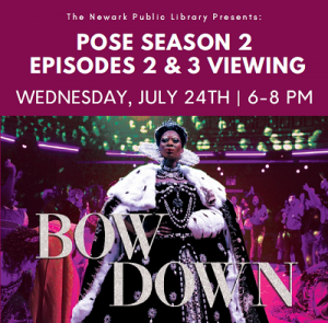 Pose Season 2 viewing @ The Newark Public Library, 1st Floor LGBTQ Center | Newark | New Jersey | United States