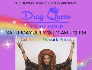 Drag Queen Story Hour @ The Newark Public Library, 1st Floor LGBTQ Center | Newark | New Jersey | United States