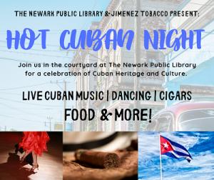 Hot Cuban Night @ The Newark Public Library, Courtyard | Newark | New Jersey | United States