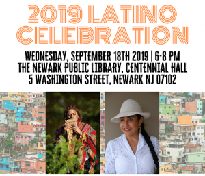 2019 Latino Celebration Opening Reception @ The Newark Public Library, Centennial Hall