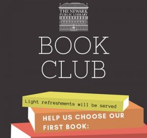 Book Club @ The Newark Public Library, JBAAR