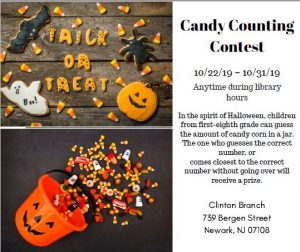 Candy Counting Contest @ Newark Public Library, Clinton Branch