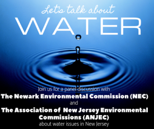 Let's Talk About Water @ The Newark Public Library, 1st Floor LGBTQ Center