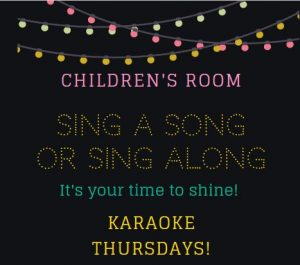 Children's Room Sing A Song or Sing Along @ Main Library, Children's Room