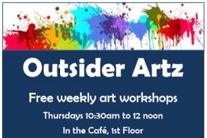 Outsider Artz @ The Newark Public Library, 1st Floor Cafe
