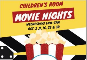 Children's Room Movie Nights @ Newark Public Library, Children's Room