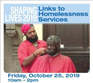 Shaping Lives 2019: Links to Homelessness Services @ Newark Public Library, Centennial Hall