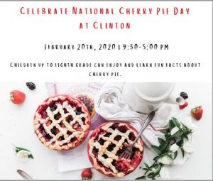 Celebrate National Cherry Pie Day at Clinton