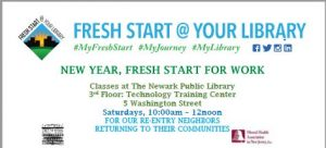 NEW YEAR, FRESH START FOR WORK - POSTPONED DUE TO SNOW @ Main Branch