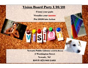 Vision Board Party @ Main Branch