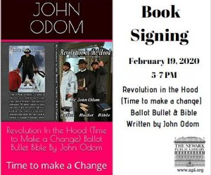 Book Signing Revolution in the Hood (Time to make a change) Ballot, Bullet & Bible @ Clinton Branch Library