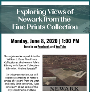 Exploring Views of Newark from the Fine Prints Collection