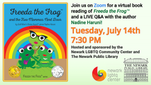 Virtual Book Reading of Freeda the Frog and the Two Mommas Next Door