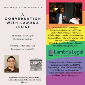 A Conversation with Lambda Legal