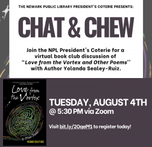 Canceled-Chat & Chew: Book Club with NPL President's Coterie