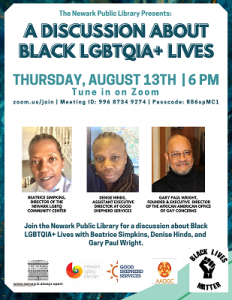A Discussion about Black LGBTQIA+ Lives