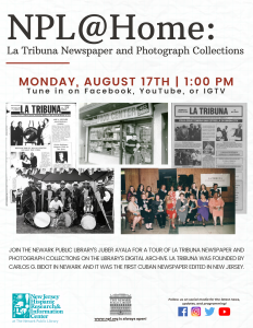 NPL@Home: La Tribuna Newspaper and Photograph Collections
