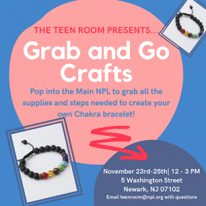 Teen Room: Grab & Go Crafts