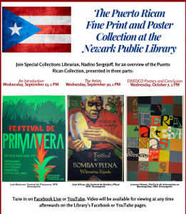 The Puerto Rican Fine Print and Poster Collection at the Newark Public Library