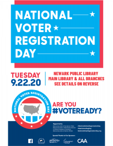 Voter Registration Day Events at all NPL Branches