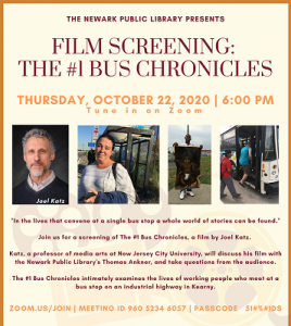 Film Screening: The #1 Bus Chronicles