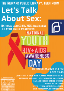 National Latinx HIV/Aids Awareness Day - Discussion with Planned Parenthood