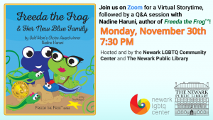 Virtual Storytime: Freeda the Frog & Her New Blue Family