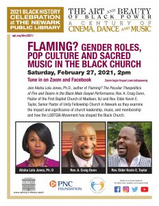 Flaming? Gender Roles, Pop Culture and Sacred Music in the Black Church