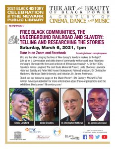 Free Black Communities, The Underground Railroad and Slavery: Telling and Researching the Stories