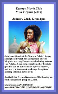 Kanopy Movie Club - Miss Virginia