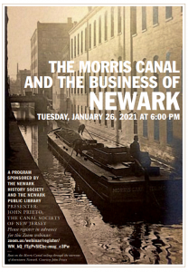 The Morris Canal & The Business of Newark