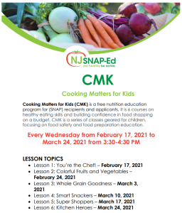 Cooking Matters for Kids {Springfield Branch}