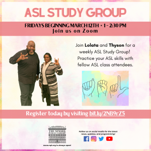 ASL Study Group with Lolata and Thyson