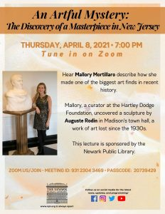 An Artful Mystery: The Discovery of a Masterpiece in New Jersey