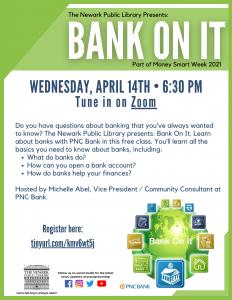 Money Smart Week: Bank on It